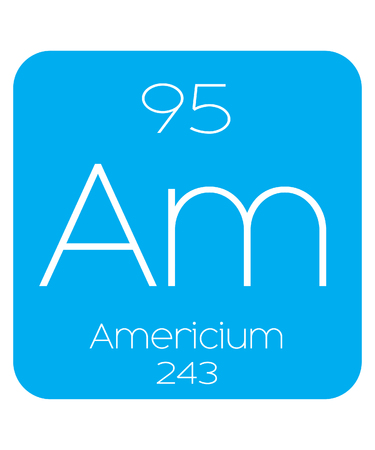 halogens: An Informative Illustration of the Periodic Element - Americium