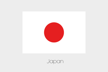 rotated: A 180 Degree Rotated Flag of  Japan