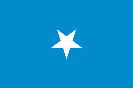 somalia: A 180 Degree Rotated Flag of  Somalia