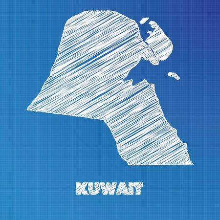 A blueprint map of the country of kuwait stock photo picture and a blueprint map of the country of kuwait stock photo picture and royalty free image image 45611488 malvernweather Gallery