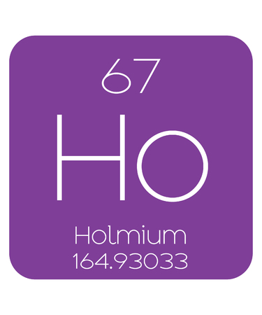 periodic table of the elements: The Periodic Table of the Elements Holmium