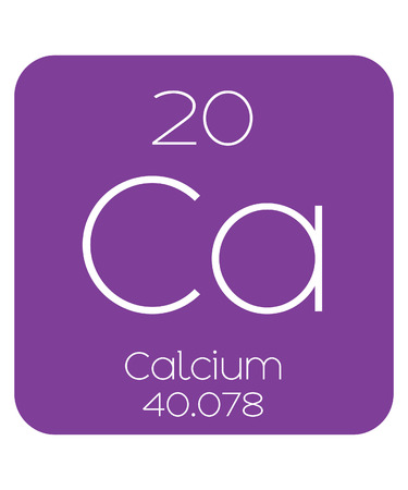 The Periodic Table Of The Elements Calcium Stock Photo Picture And