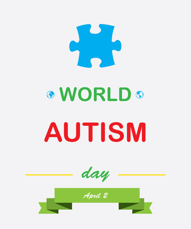 asperger: World Autism Day Stock Photo