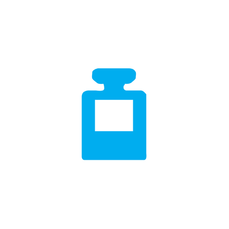 inkpot: A Blue Icon Isolated on a White Background - InkPot