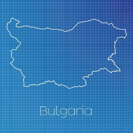 schematic diagram: A Schematic outline of the country of Bulgaria