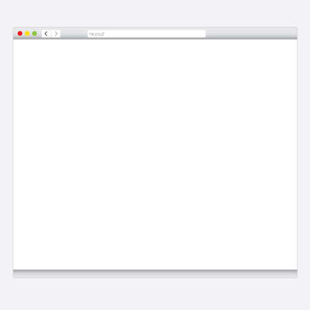 web browser: Simple Browser window isolated