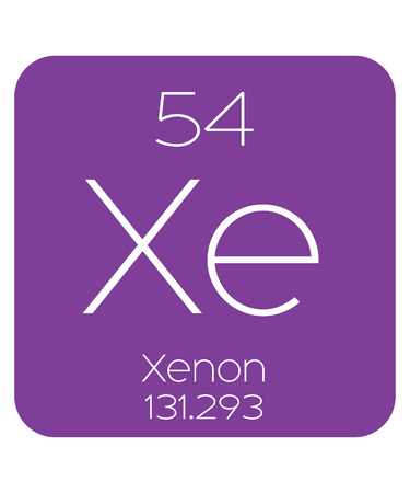 periodic table of the elements: The Periodic Table of the Elements Xenon