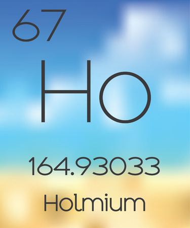 periodic table: The Periodic Table of the Elements Holmium