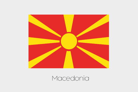 inverted: An Inverted Flag of  Macedonia