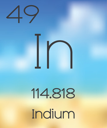 periodic table: The Periodic Table of the Elements Indium