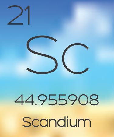 periodic table: The Periodic Table of the Elements Scandium