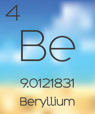 periodic table: The Periodic Table of the Elements Beryllium