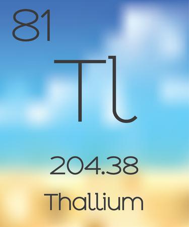 periodic table: The Periodic Table of the Elements Thallium
