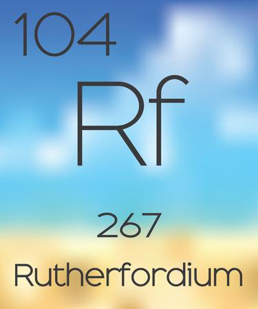 periodic table of the elements: The Periodic Table of the Elements Rutherfordium