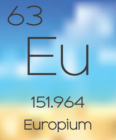 periodic table of the elements: The Periodic Table of the Elements Europium