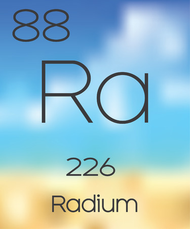 radium: The Periodic Table of the Elements Radium