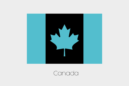 inverted: An Inverted Flag of  Canada