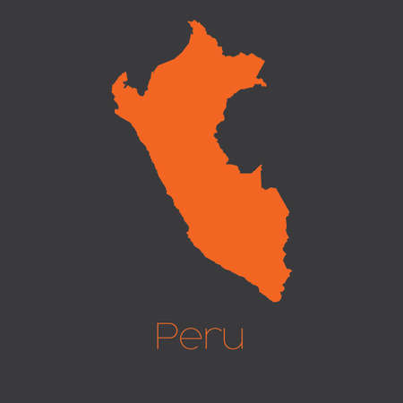mapa del peru: Un mapa del pa�s de Per�