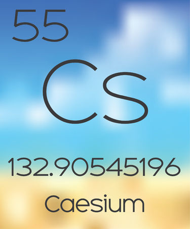 periodic table of the elements: The Periodic Table of the Elements Caesium