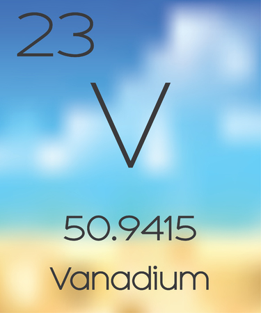 periodic table: The Periodic Table of the Elements Vanadium