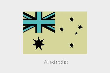 inverted: An Inverted Flag of  Australia