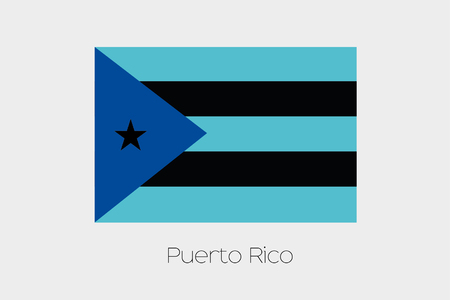 inverted: An Inverted Flag of  Puerto Rico
