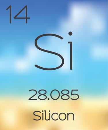 silicon: La Tabla Periódica de los Elementos de silicio
