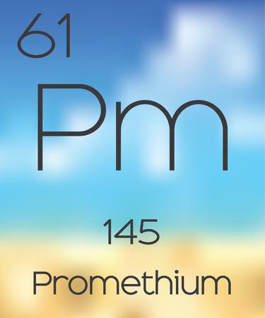 periodic table: The Periodic Table of the Elements Promethium