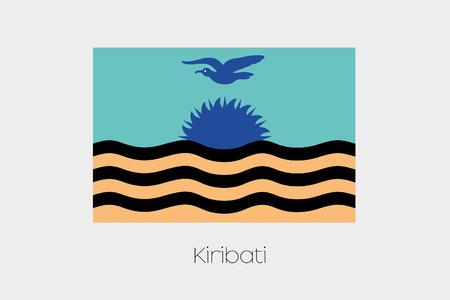 inverted: An Inverted Flag of  Kiribati