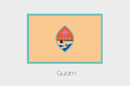 inverted: An Inverted Flag of  Guam