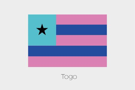 inverted: An Inverted Flag of  Togo