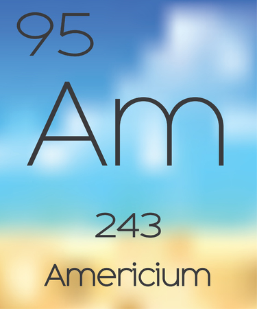periodic table of the elements: The Periodic Table of the Elements Americium