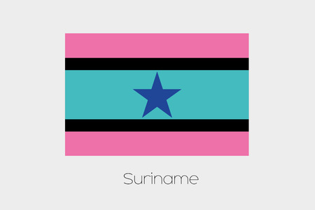 inverted: An Inverted Flag of  Suriname
