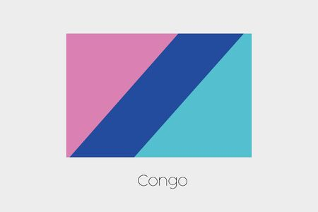 inverted: An Inverted Flag of  Congo