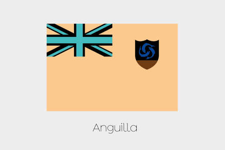 inverted: An Inverted Flag of  Anguilla
