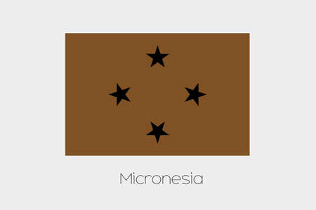 inverted: An Inverted Flag of  Micronesia