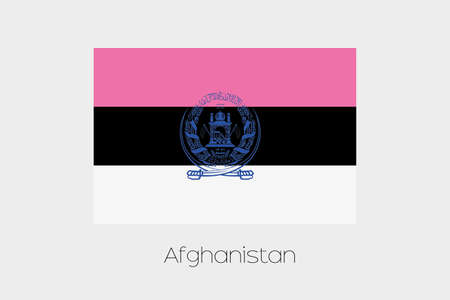 afghanistan: An Inverted Flag of  Afghanistan