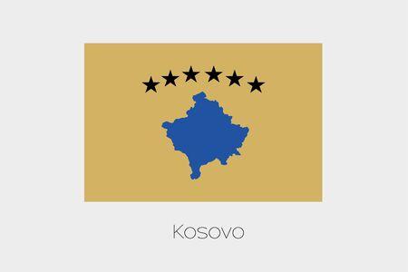 kosovo: An Inverted Flag of  Kosovo