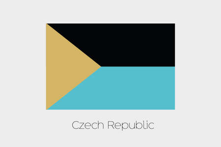 inverted: An Inverted Flag of  Czech Republic