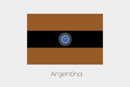 inverted: An Inverted Flag of  Argentina