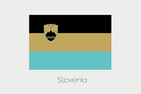 inverted: An Inverted Flag of  Slovenia
