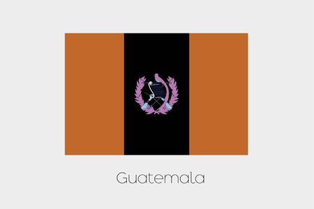 inverted: An Inverted Flag of  Guatemala