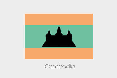 inverted: An Inverted Flag of  Cambodia
