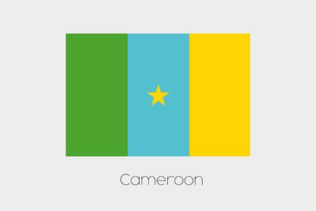 inverted: An Inverted Flag of  Cameroon