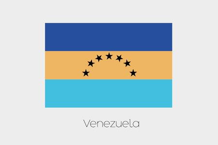 inverted: An Inverted Flag of  Venezuela