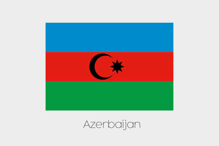 inverted: An Inverted Flag of  Azerbaijan