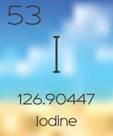 periodic table of the elements: The Periodic Table of the Elements Iodine