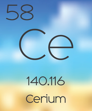 periodic table of the elements: The Periodic Table of the Elements Cerium