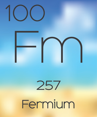 periodic table: The Periodic Table of the Elements Fermium