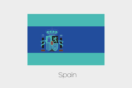 inverted: An Inverted Flag of  Spain